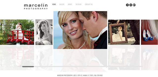 new look marcelin photography website