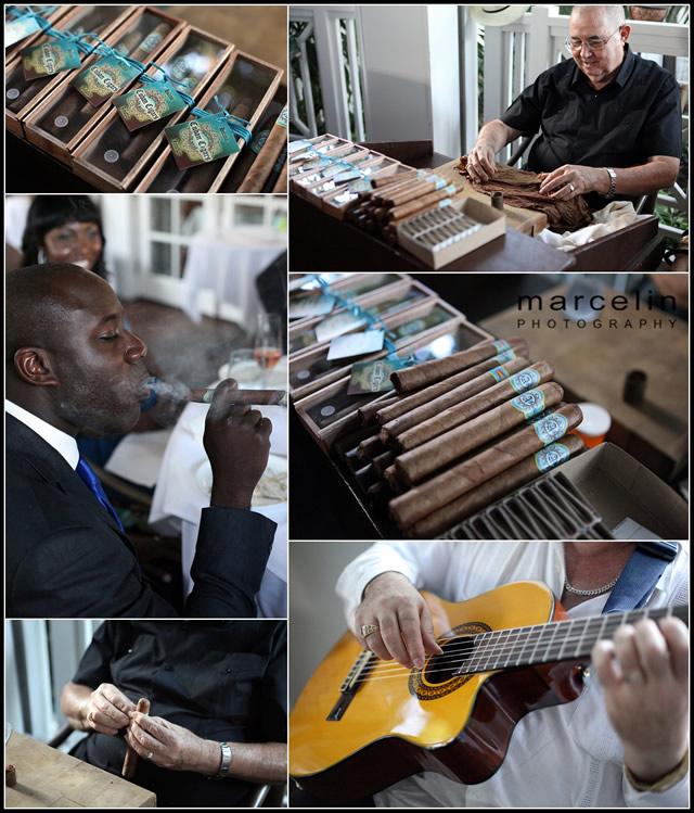 rolling cigars palms hotel miami beach wedding