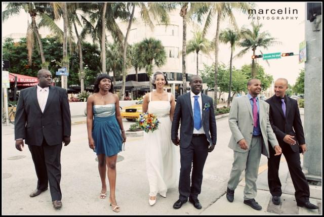bride groom miami beach