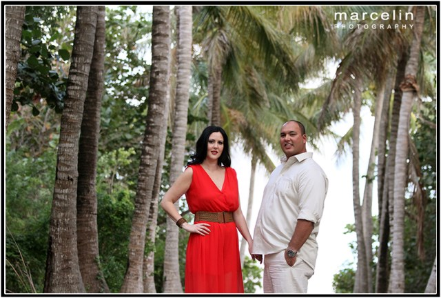 giselle and ray engagement session at bill baggs florida park